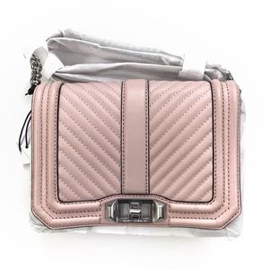 •REBECCA MINKOFF• Small Love Crossbody Peony